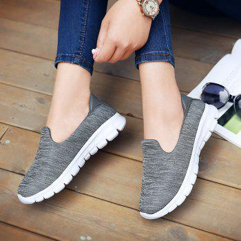 Breathable Casual Running Shoes - DARK GRAY 40