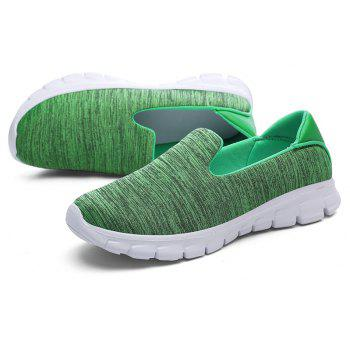 Breathable Casual Running Shoes - GREEN 35