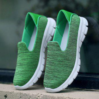 Breathable Casual Running Shoes - GREEN 42