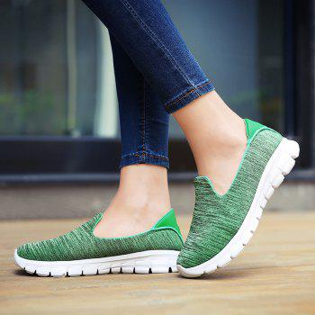 Breathable Casual Running Shoes - GREEN 41