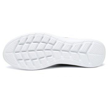 Lightweight Casual Breathable Sports Men Shoes - PLATINUM 41