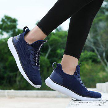 Lightweight Casual Breathable Sports Men Shoes - DENIM DARK BLUE 40