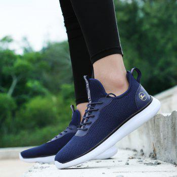 Lightweight Casual Breathable Sports Men Shoes - DENIM DARK BLUE 46