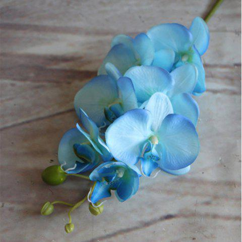 Wedding Simulation Plant Household Decorative Artificial Flowers - DAY SKY BLUE