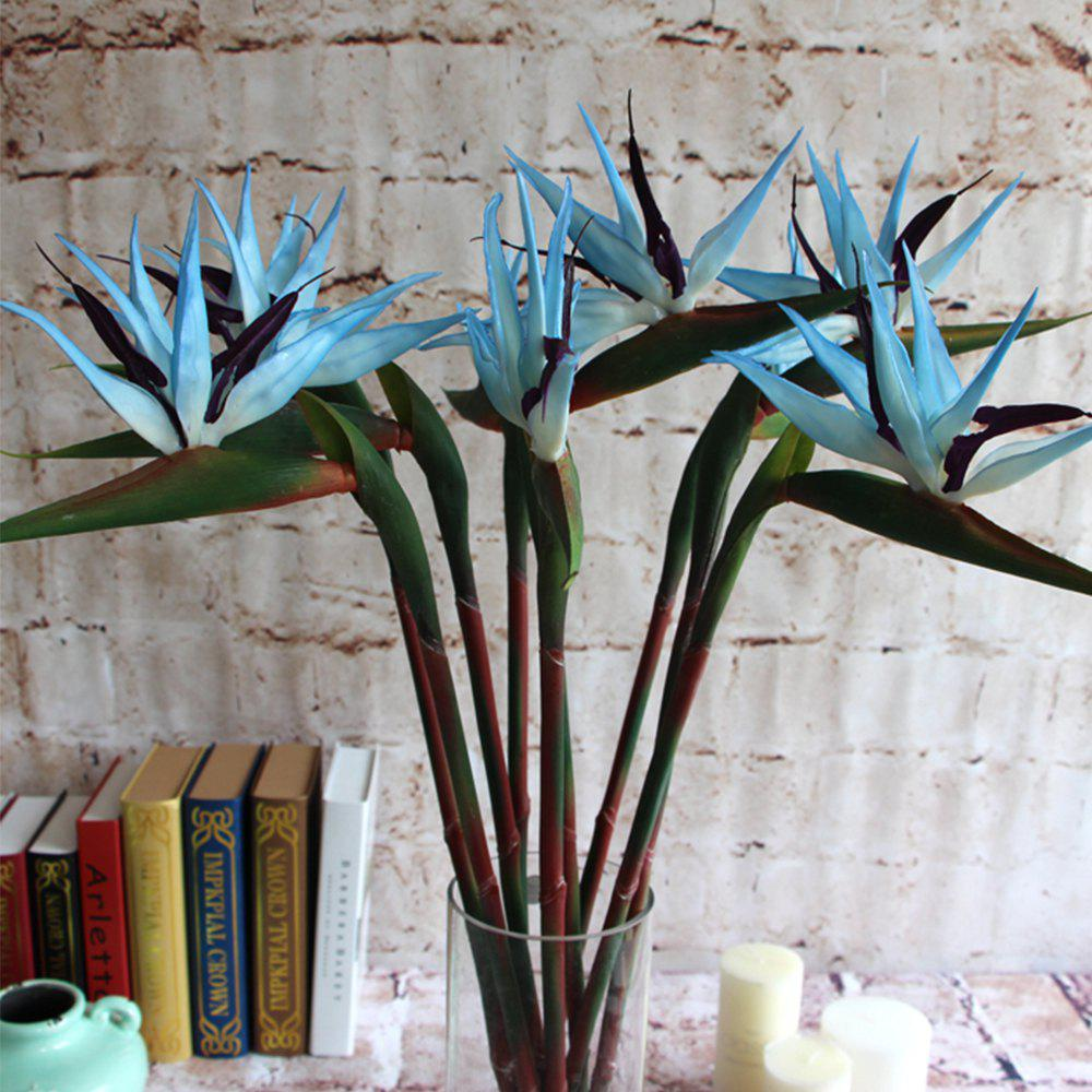 Paradise Bird Home Decoration Is Decorated With Artificial Flowers - DAY SKY BLUE