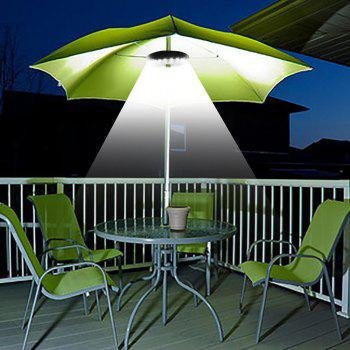 YWXLight Patio Umbrella Light Cordless 28 LED Lights Pole Light for Camping - BLACK