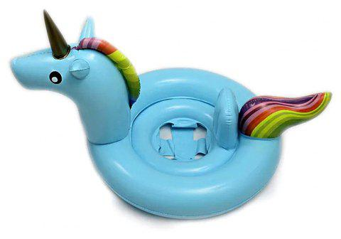 JL-04 Children Swimming Ring Float 3 Colors - LIGHT BLUE