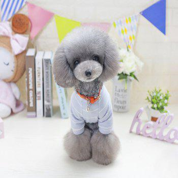 Lovoyager VB1803 Spring and Summer 2018 New Simple Fashion Lions Home Clothes - LIGHT GRAY S