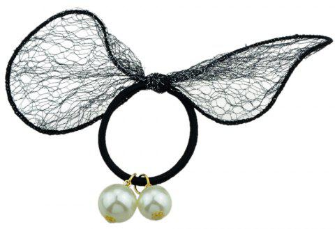 Elastic Rope Simulated Hair Tie - PLATINUM