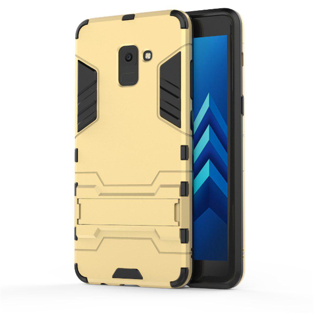 Cover Case for Samsung Galaxy A8 2018 Hock Resistant Armour Hard - GOLD
