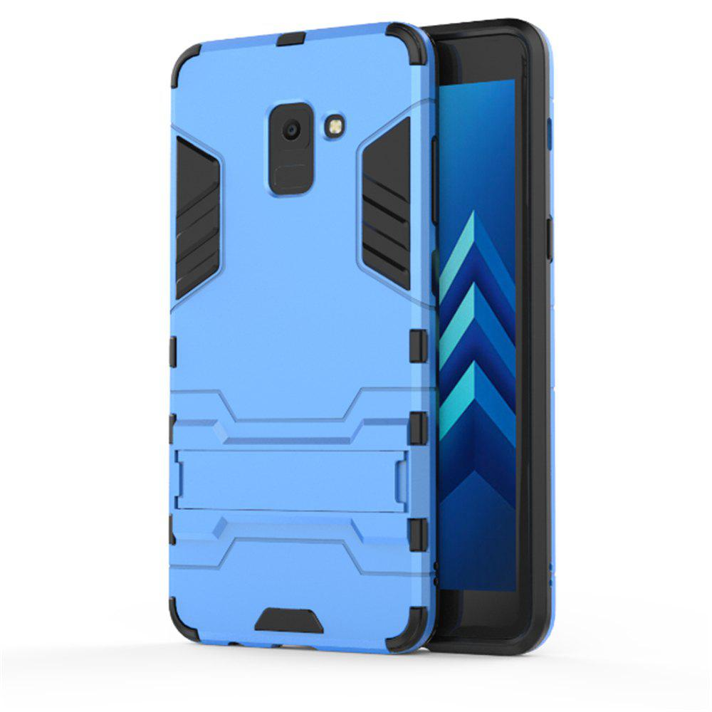 Cover Case for Samsung Galaxy A8 2018 Hock Resistant Armour Hard - ROYAL BLUE