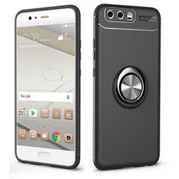 Cover Case for Huawei P10 Ring stealth Kickstand 360 Degree Rotating Grip - BLACK