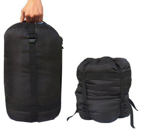 Waterproof Lightweight Nylon Compression Stuff Bag - BLACK