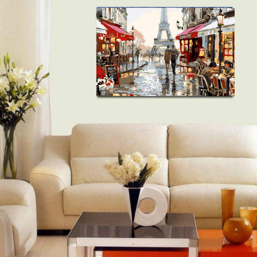 Frameless DIY Digital Canvas Oil Painting Home Decor for Living Room 5pcs printed wineglass painting canvas print room decor