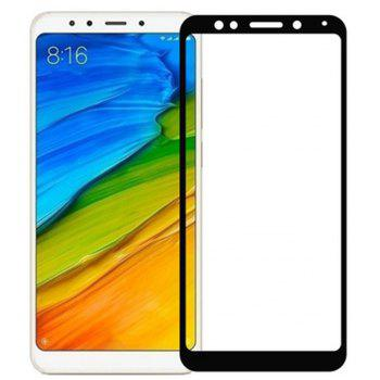 for Xiaomi Redmi 5 9H  High Definition Glass Protects Steel Film - BLACK
