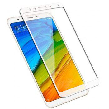 for Xiaomi Redmi 5 Plus 9H High Definition Glass Protects Steel Film - WHITE