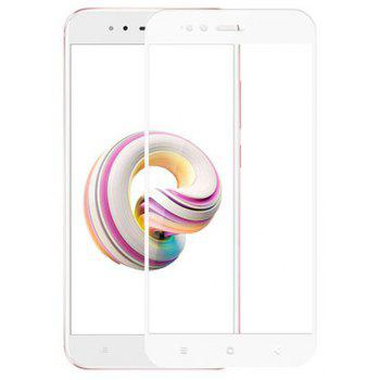 for Xiaomi  5X 9H High Definition Glass Protects Steel Film - WHITE