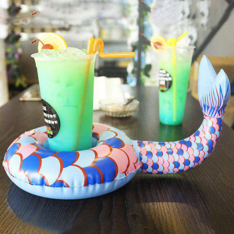 New Mini Lovely Inflatable Water Cup Holder Toys - multicolor A