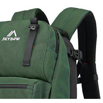 Travel Outdoor Sports Large Capacity Travel Waterproof Backpack - ARMY GREEN