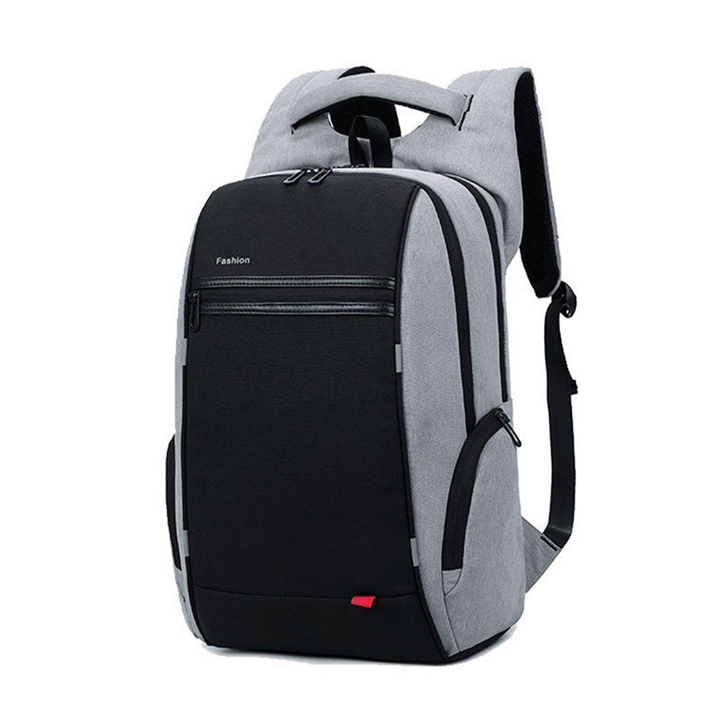 Multifunctional Travel Business Notebook Backpack - BLACK