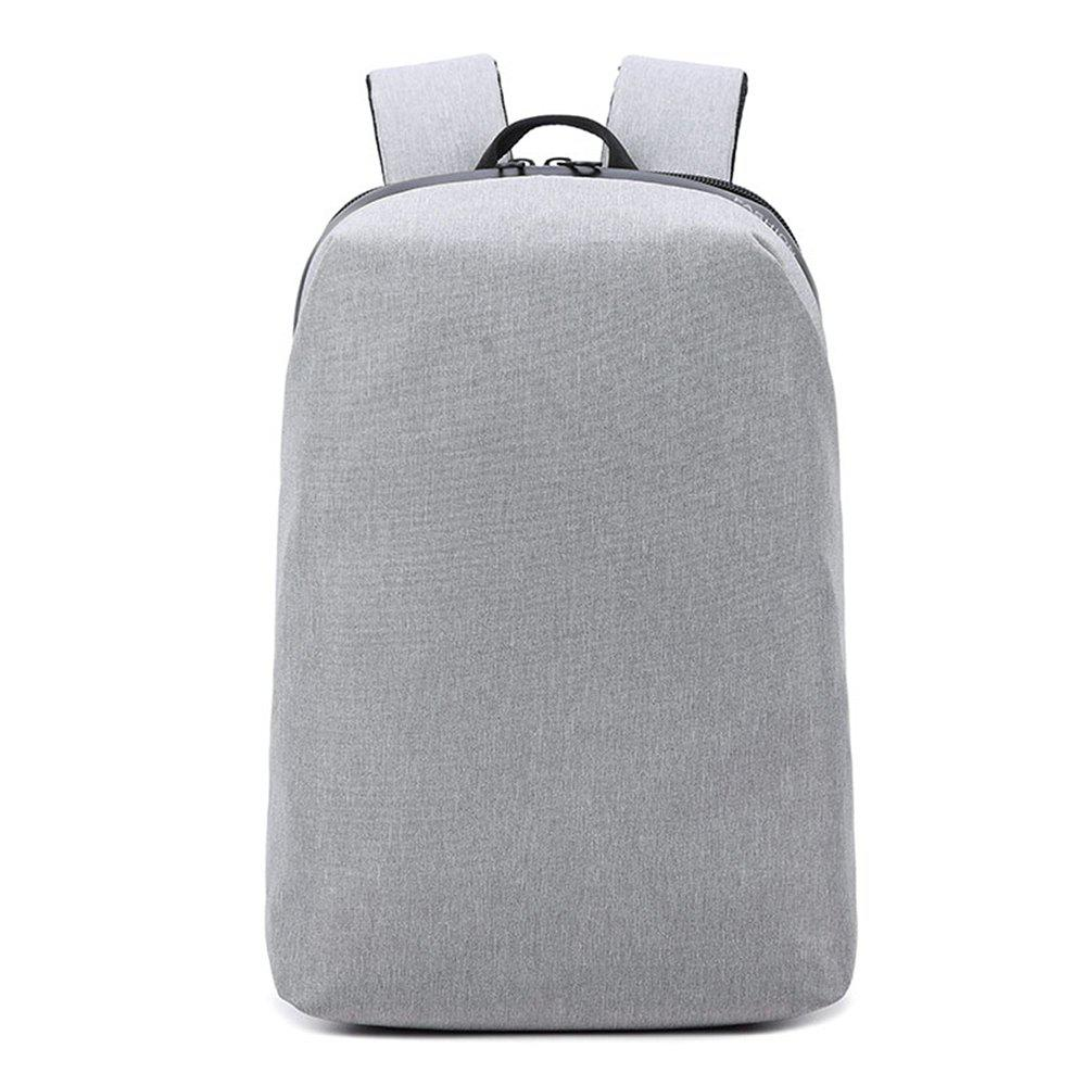 16 Inch Casual Fashion Trend Youth Business Backpack - LIGHT GRAY
