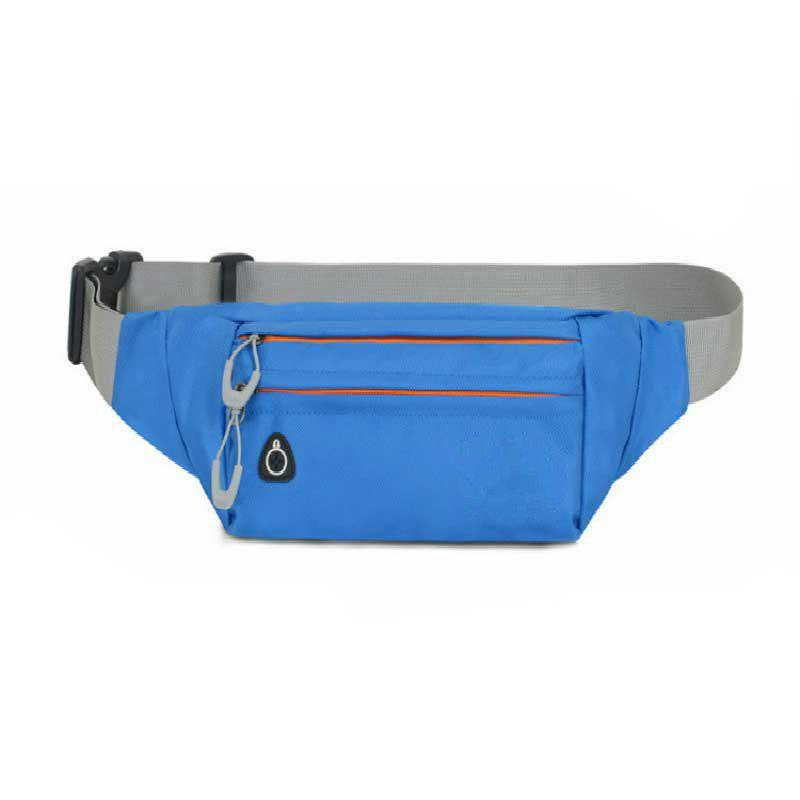 Multi-function Breath Waist Bag for Outdoor Sports Mountaineering Running - OCEAN BLUE