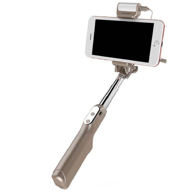 Three - Shift Beauty Selfie Stick Is Suitable for The 3.5-6.0 Inch Screen Phone - GOLD