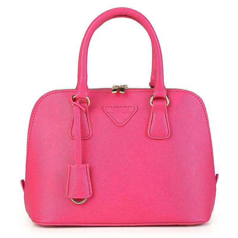 Fashion Trend Small Fresh Women'S Shell Bag - ROSE RED