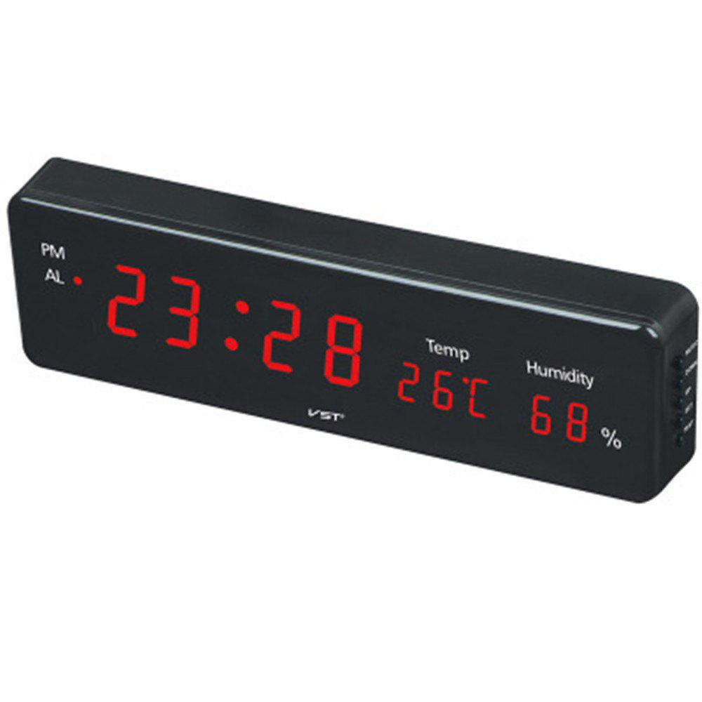 Big Numbers Electronic Desktop Clock LED - RED