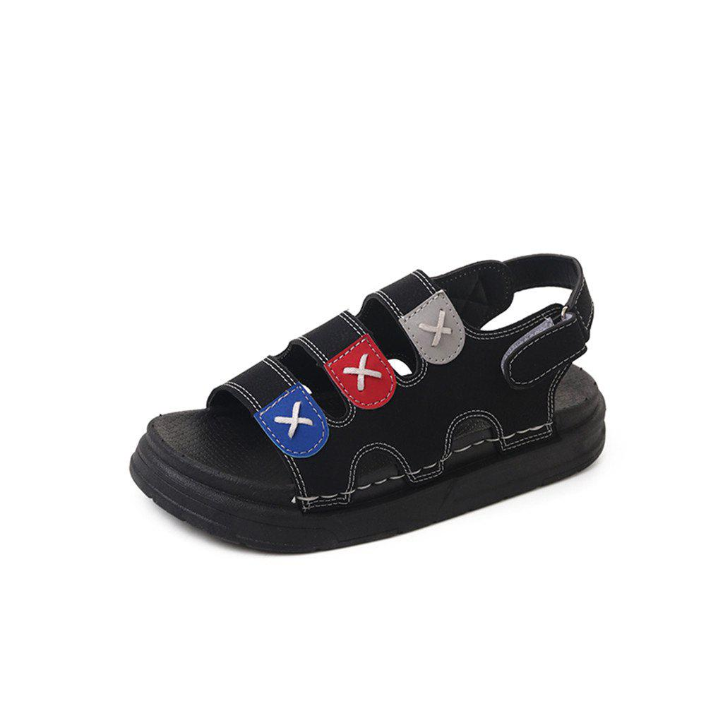 Pine Cake Thick Bottom Buckle Leisure Wear Beach Shoes