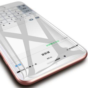 3D Soft Screen Water  Protector Membrane Film for iPhone X - TRANSPARENT