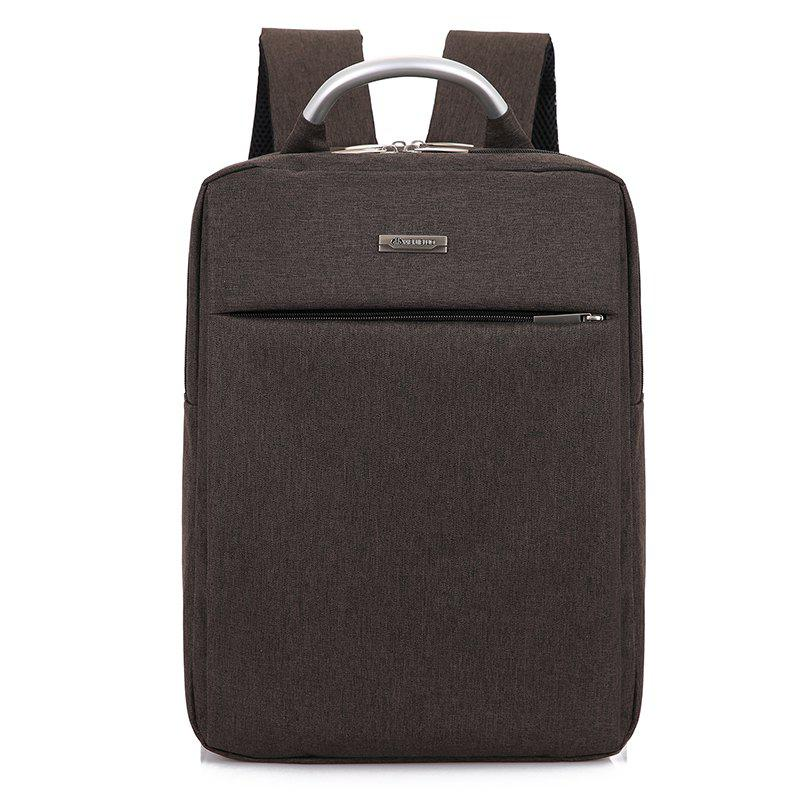Men Backpack for 15.6 inche Laptop Bagpack Water Repellent Bag - COFFEE