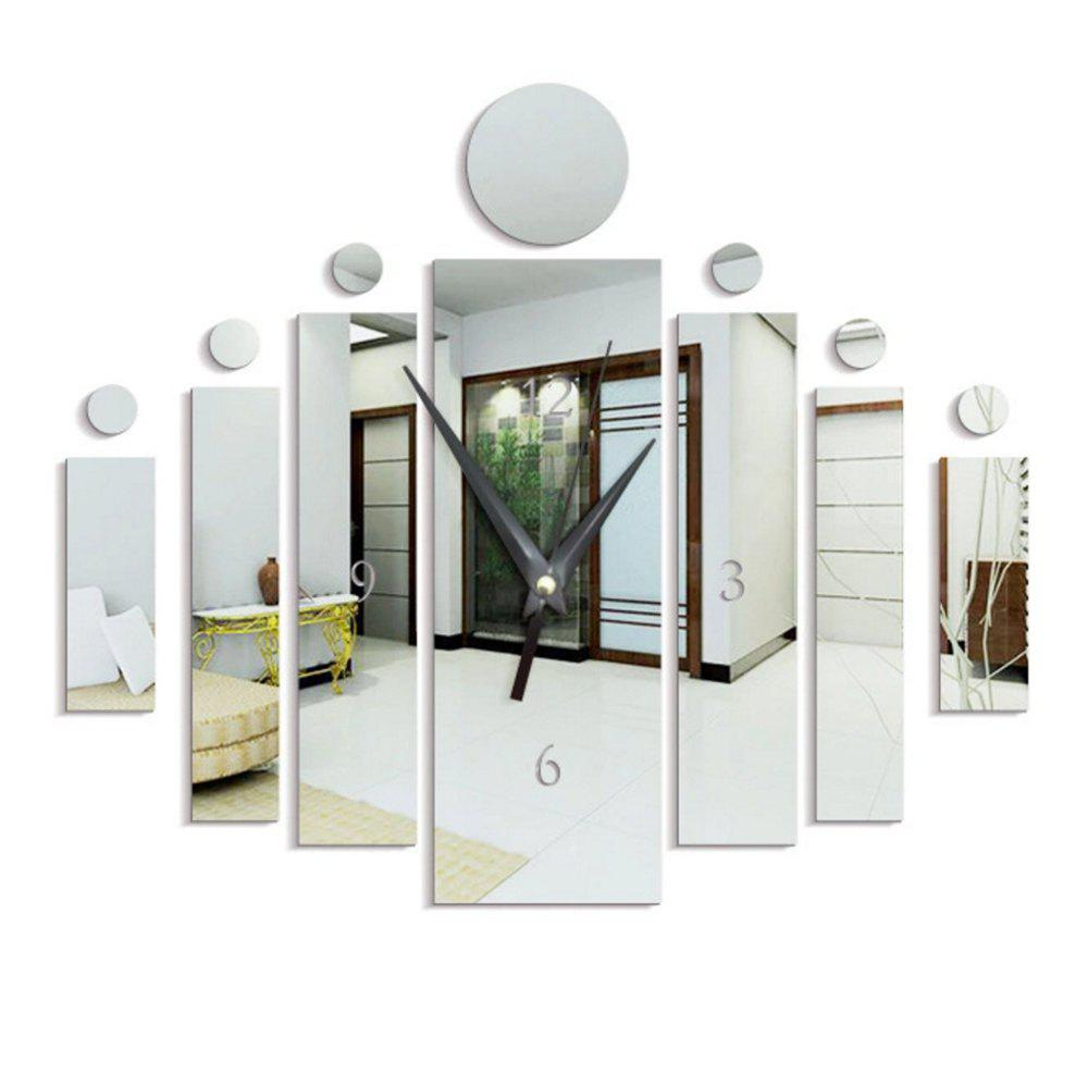 Personality DIY Household Decoration Wall Stickers - SILVER 60X45CM