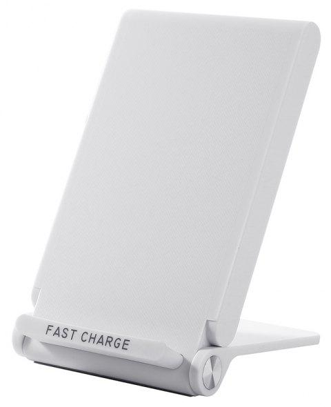 Fast Charge Wireless Charger Pad for iPhone X 8 8 Plus Samsung S8 S9 Note 8 - WHITE