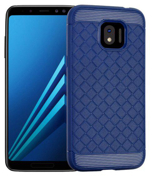 Luxury TPU Silicone Soft Phone Case for Samsung Galaxy J2 PRO 2018 Back Cover - BLUE