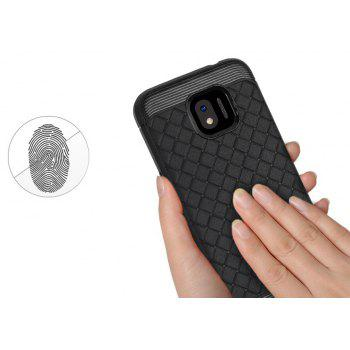 Luxury TPU Silicone Soft Phone Case for Samsung Galaxy J2 PRO 2018 Back Cover - BLACK