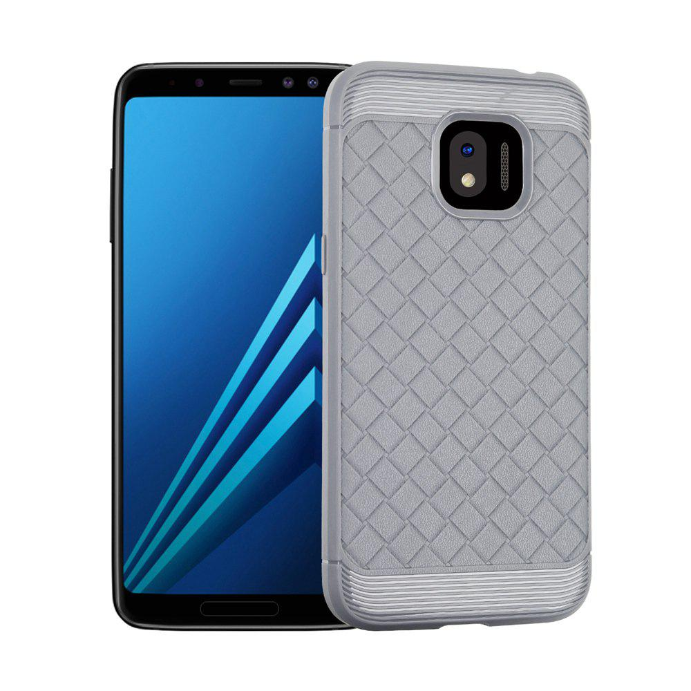 Luxury TPU Silicone Soft Phone Case for Samsung Galaxy J2 PRO 2018 Back Cover - GRAY