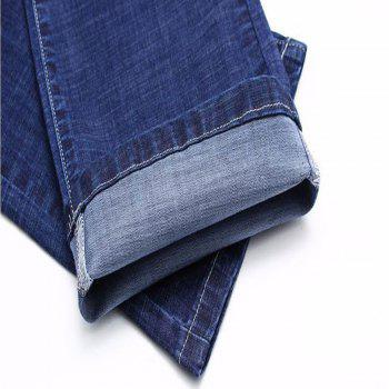 Men's Jeans New Jeans Trousers - STEEL BLUE 34