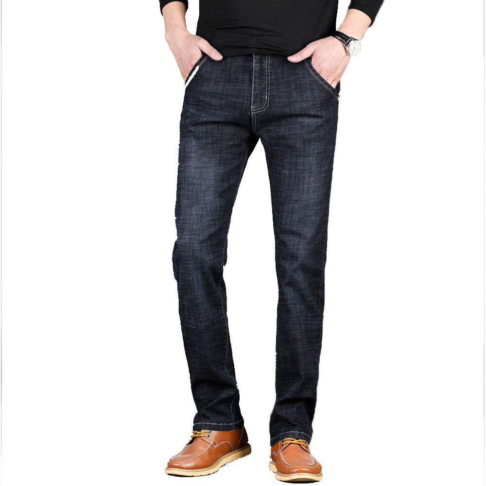 Men's Jeans New Jeans Trousers - BLACK 31