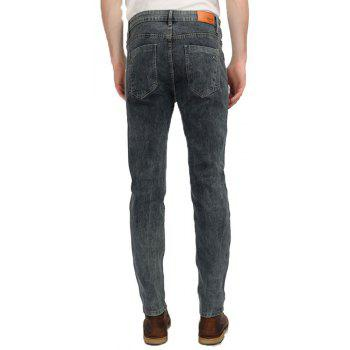 New Men's Denim Jeans Pants - DENIM DARK BLUE 28