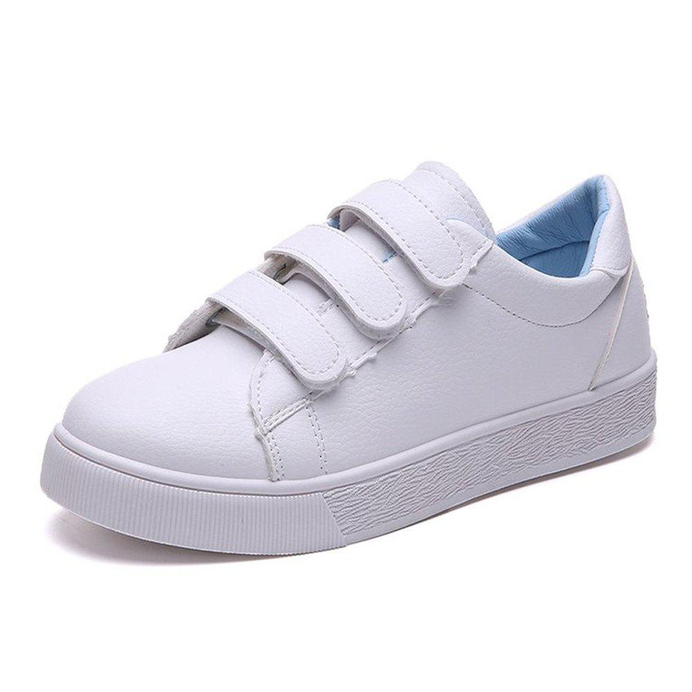 2018 New All-match White Shoes Casual Fashion - BLUE 37