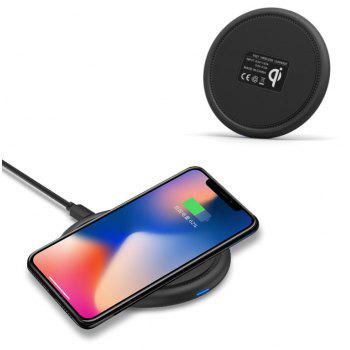 GoComma W10 Fast Wireless Charger - NATURAL BLACK