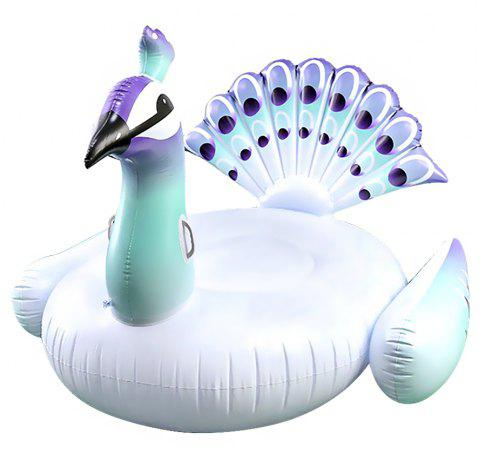 JL-15 Peacock Water Mounts Floating Row - WHITE
