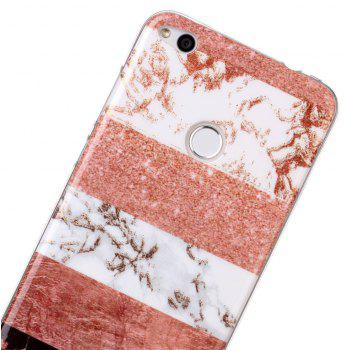 TPU Material Marble Pattern HD IMD Phone Case for Huawei P8 Lite (2017) - multicolor B