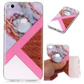 TPU Material Marble Pattern HD IMD Phone Case for Huawei P8 Lite (2017) - multicolor D