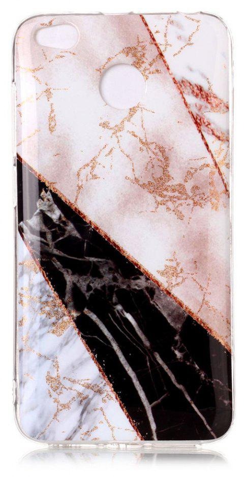 TPU Material Marble Pattern HD IMD Phone Case for Xiaomi Redmi 4x - multicolor B
