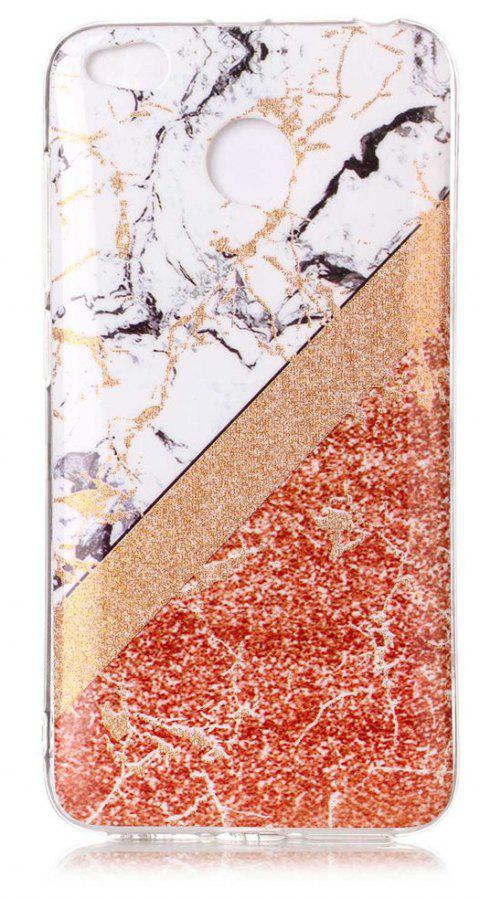 TPU Material Marble Pattern HD IMD Phone Case for Xiaomi Redmi 4x - multicolor C