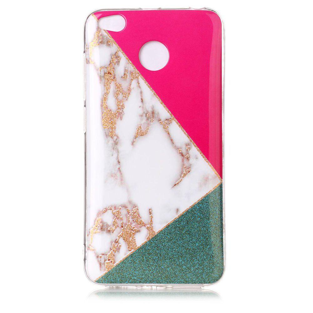 TPU Material Marble Pattern HD IMD Phone Case for Xiaomi Redmi 4x - multicolor A