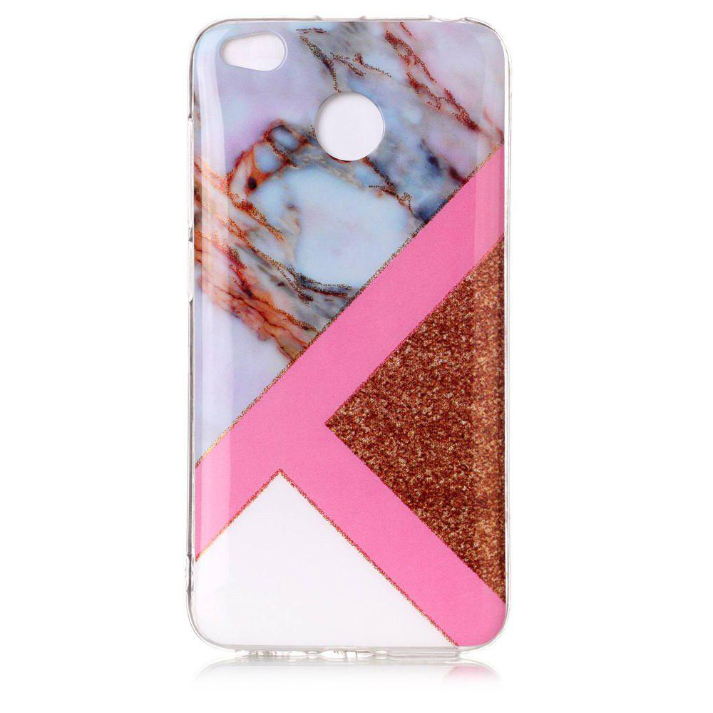 TPU Material Marble Pattern HD IMD Phone Case for Xiaomi Redmi 4x - multicolor D
