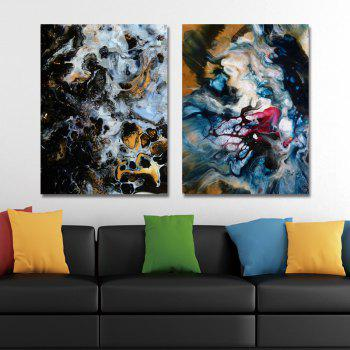MY43-CX - 33-76 Fashion Abstract Print Art Ready to Hang Paintings 2PCS - multicolor 30 X 40CM X 2